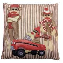 Nahřívací polštářek s třešňovými peckami Opice