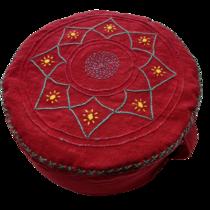 Meditační sedák Červená asána
