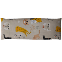 Pohankový polštářek Cats and milk 50x18cm